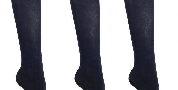 QHP Show sock Navy (set of 3)