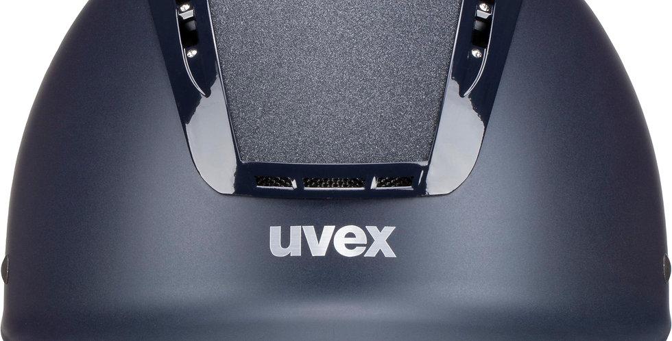 Uvex Suxxeed Starshine Junior Riding Hat -Navy