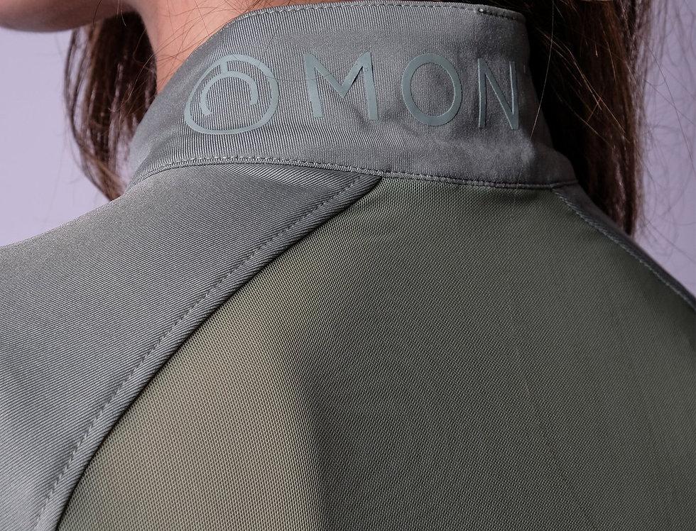 Montar Honey Mesh Back Polo - Soft Green