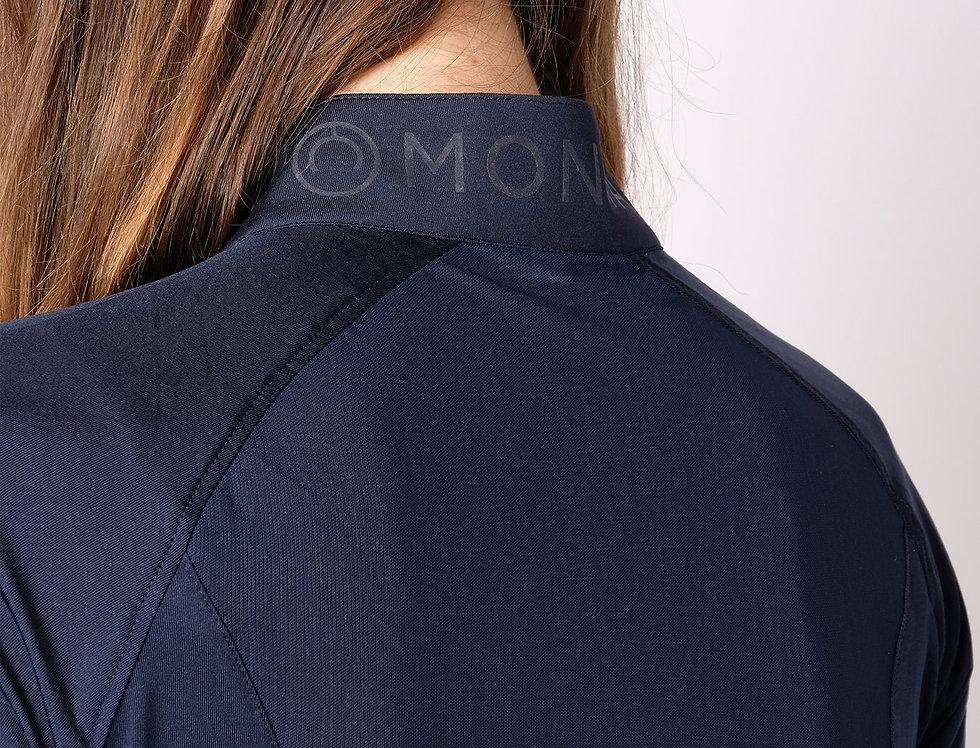 Montar Honey Mesh Back Polo - Navy