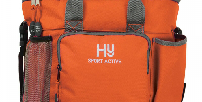Hy Sport Active Grooming Bag terracotta orange