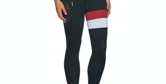 CHILLOUT HORSEWEAR ROYALE SILICONE KNEE LADIES RIDING TIGHTS