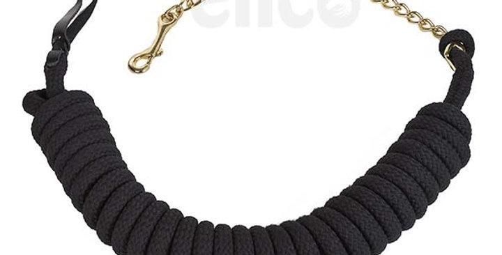 Elico Lichfield Lunge Reins with Brass Chain