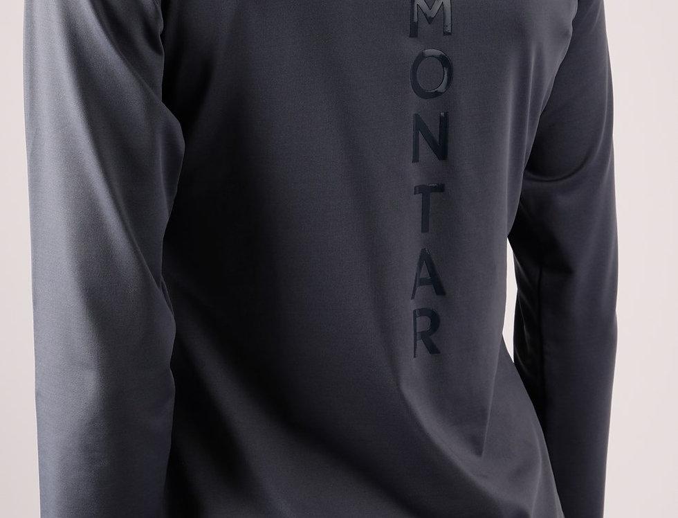 Montar Melanie Vertical Logo Baselayer -dove blue