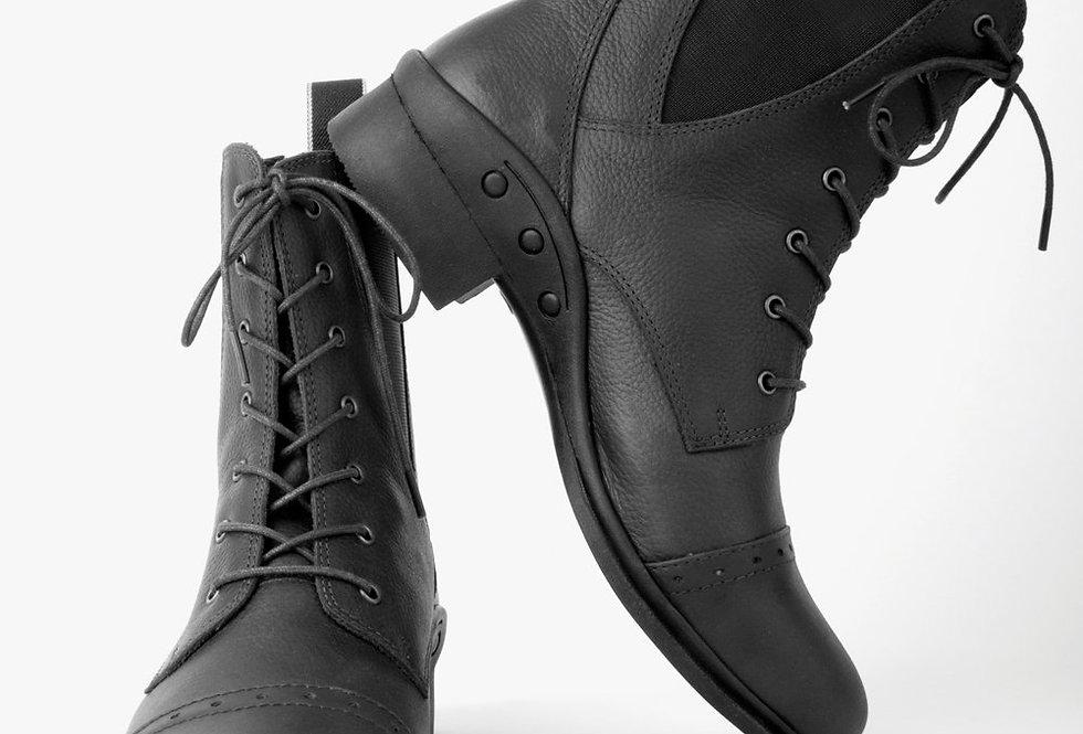 Rhinegold 'Elite' Indiana Lace-up Paddock Boots