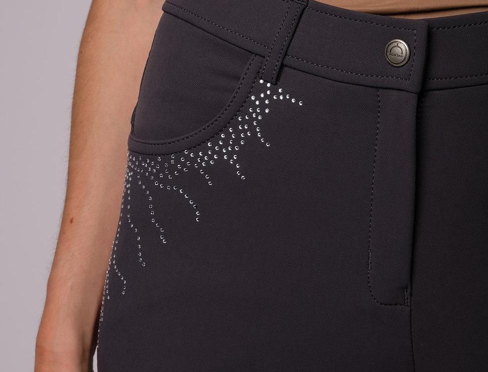 Montar Femke Yati Normalwaist Crystal Lians - Grey, Fullgrip