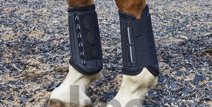 Elico Cross Country Horse Boots - Front