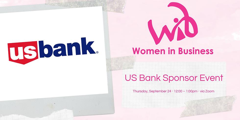 US Bank Sponsor Event