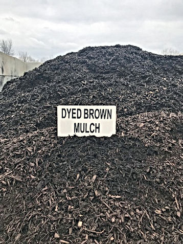 Artisan Stone Products dyed brown mulch protects your yard, plants and soil and gives that finishing touch to any landscape.  Call us at 217-697-8433 for same-day brown dyed mulch delivery in the Springfield, IL area - by the half cubic yard or one cubic yard scoop!