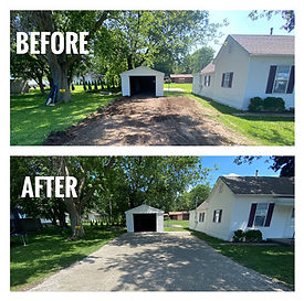 Artisan Stone Products can help your driveway look and function much better - call us at 217-697-8433 for driveway gravel.