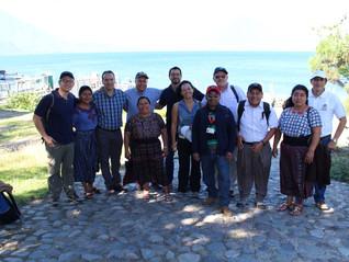 Equipo CAHI visita proyecto en San Lucas Tolimán