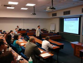 CAHI Fellows mejoran sus conocimientos sobre administración de proyectos