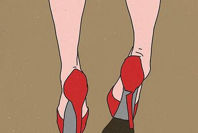 Illustrated High Heels