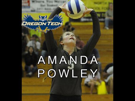SCHOLARSHIP FINALIST AMANDA POWLEY