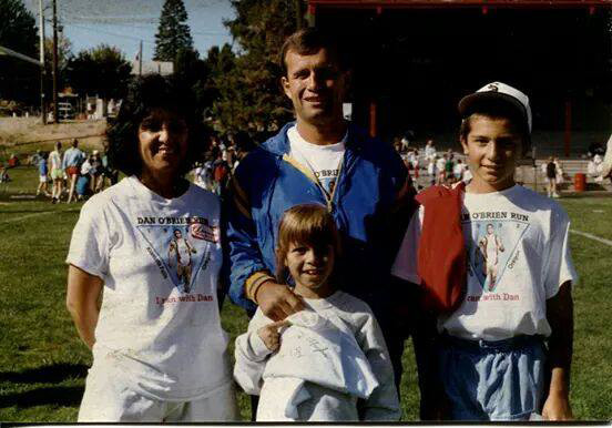 The Delaney family ran with Dan