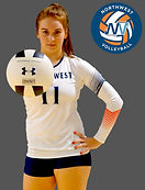 Meghan Price NW Volleyball