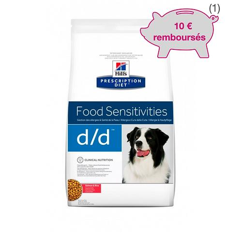 Canine D/D Saumon & Riz 12 kg