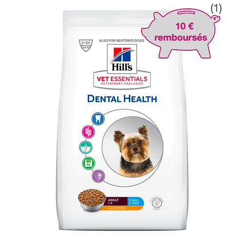 Vetessentials Canine Adult Dental Small Poulet 7kg