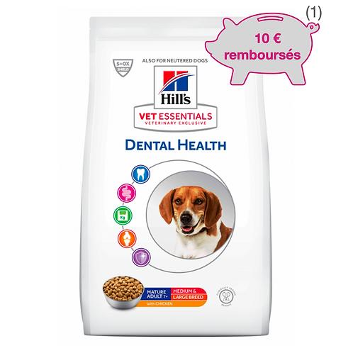 Vetessentials Canine Mature Dental Medium et Large 10kg