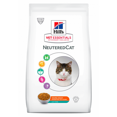 Vetessentials Young Adult Neutered Cat Thon 2,5kg