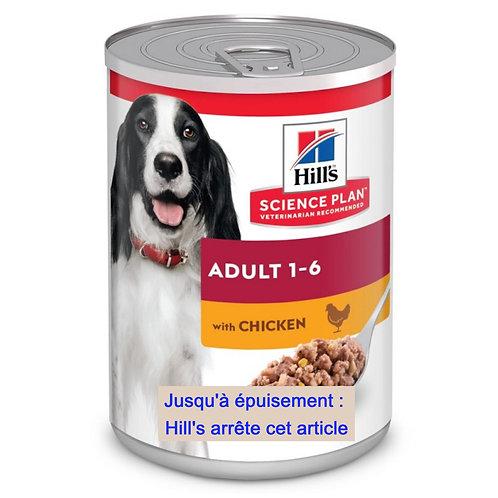 Canine Adult Poulet 12 Boîtes de 370g