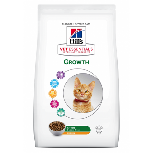 Vetessentials Feline Kitten Growth Poulet 2,5kg