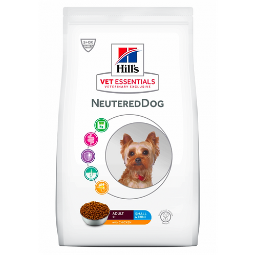 Vetessentials Adult Neutered Dog Small&Mini Poulet 1,5kg