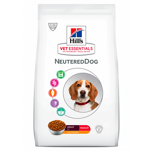 Vetessentials Adult Neutered Dog Medium Poulet 2kg
