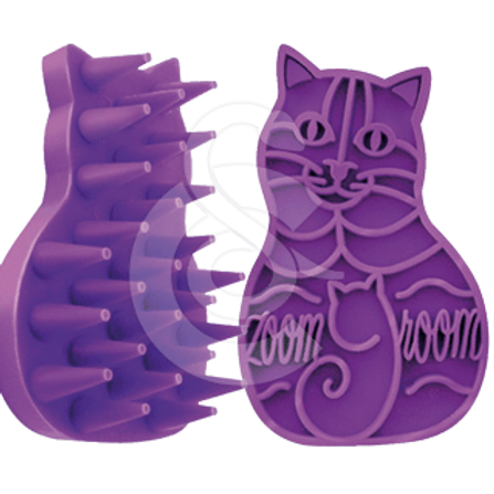 Brosse caoutchouc pour chat