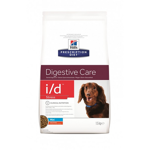 Canine I/D Digestive Care Stress Mini 1,5kg