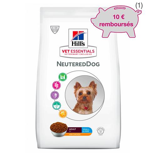 Vetessentials Adult Neutered Dog Small&Mini Poulet 6kg