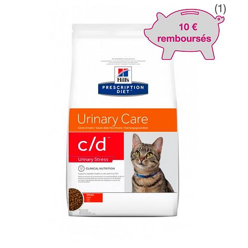 Feline C/D Urinary Stress Poulet 4kg