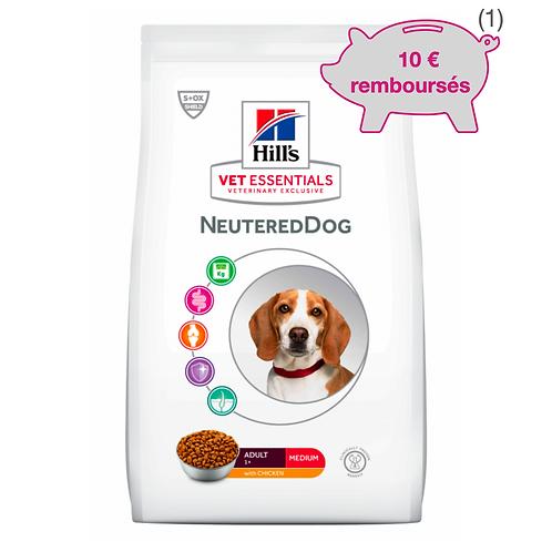 Vetessentials Adult Neutered Dog Medium Poulet 10kg