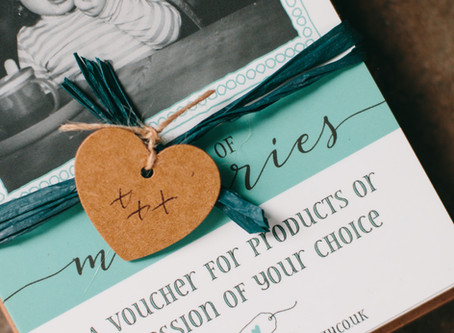 VH Photography Gift Vouchers