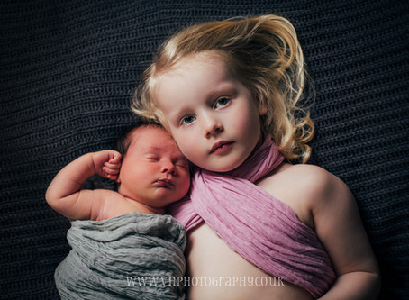 A newborn with siblings photography session | Halifax | West Yorkshire