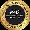VH Photography qualified newborn photogr