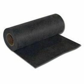 """23″ Wide Black Medium Weight (2.5 oz.) Cutaway Backing Roll - 23"""" X 50 YARDS"""
