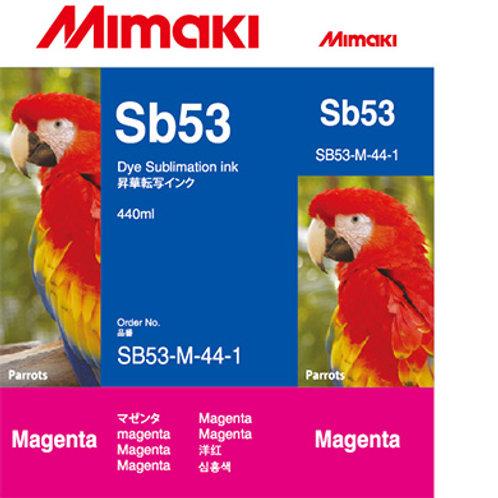 Sb53 Dye Sublimation Ink Cartridge Magenta