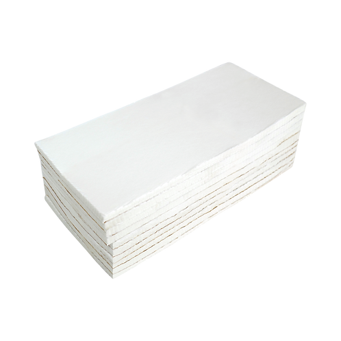 """Cap Backing – Heavy Weight (3.0 oz.) Backing Squares - 3 3/4"""" X 8"""" 250 PACK"""