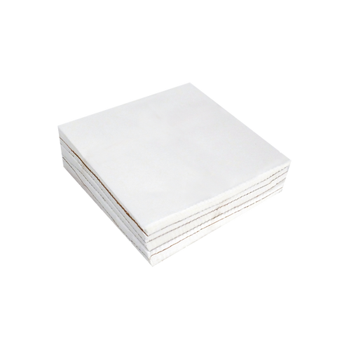 """Medium Weight (1.8 oz.) Firm Tearaway Backing Squares 6"""" X 6"""" 250 PACK"""
