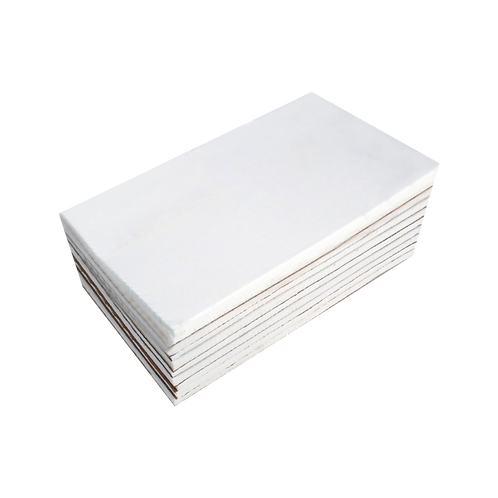 """Cap Backing – Heavy Weight (3.0 oz.) Backing Squares - 4 1/2"""" X 8"""" 250 PACK"""