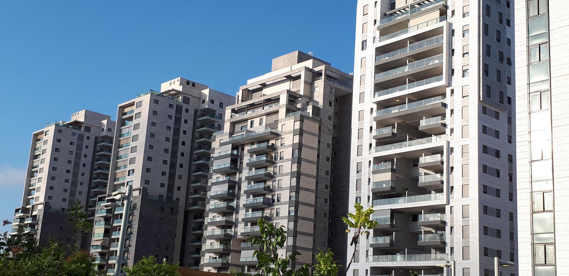 בניינים תכנית 1200 הוד השרון