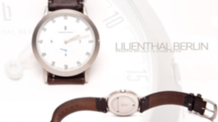 Lilienthal Berlin  www.ulf-z.com Produktwerbung  Uhr