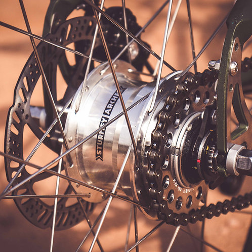 Sturmey Archer 5 Speed Freewheel Rear Hub (RX-RF5) / (RX-RK5) Set