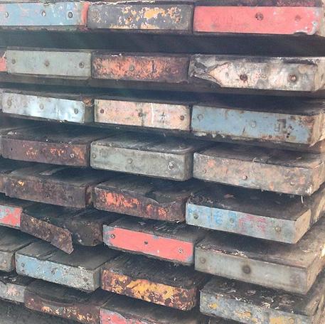 古材足場板
