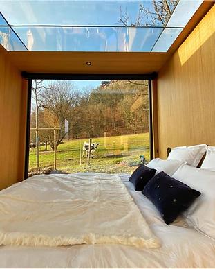 MY HOTEL CHIC - boutique hotels et maisons d'hôtes design, intimistes et trendy - bleu minuit alsace - Cabanes - Obersteinbach