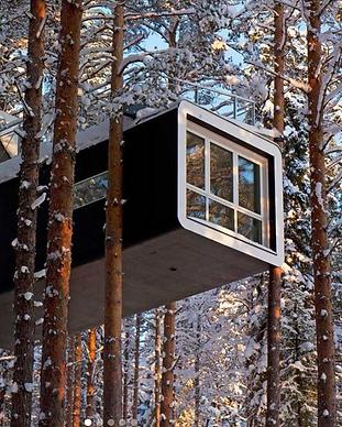 Tree Hotel - Suède