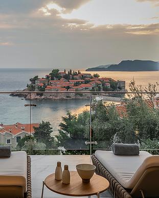 Villa Geba - Sveti Stefan -  Montenegro.