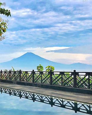 Villa Borabudur Resort - Java Indonésie.