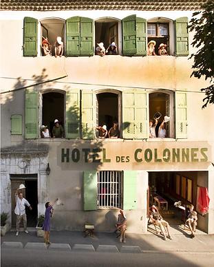 MY HOTEL CHIC - boutique hotels et maisons d'hôtes design, intimistes et trendy - Hôtel des Colonnes - Verdon